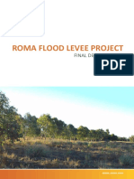 Roma Flood Levee Project - Final Design Report