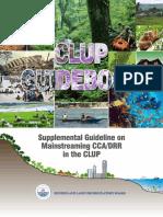 HLURB CDRA Supplemental Guidelines 07272015