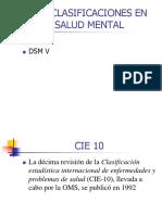 Clasificaciones Dms IV Cie 10