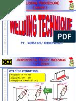 3.B. Basic Welding Horizontal Fillet