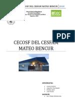 Cecosf Del Cesfam Mateo Bencur