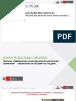 1. Propuesta Pedagógica Matemática - COMUNICACIÓN at ERP 2016