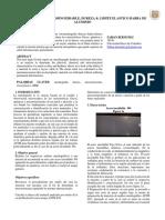 Ciencia de Los Materiales Informe