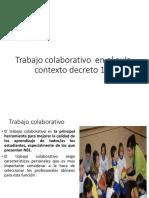 Trabajo Colaborativo Contexto Decreto 170