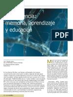Neurociencia, Memoria, Aprendizaje y Educación