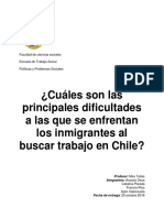 Trabajo Taller- Inmigrantes y Trabajo
