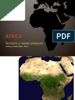 ÁFRICA. Territorio y Medio Ambiente. Antonio a. Ramón Ojeda