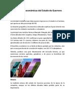 Actividades Económicas Del Estado de Guerrero