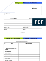 Standard Input Form_Blank