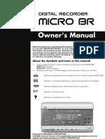 Boss Digital Recorder Micro Br