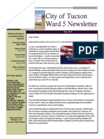 WARD 5 MAY 2019 Newsletter