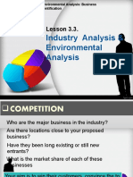 industry analysis.ppt