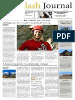 The Flash Journal Newspaper Design