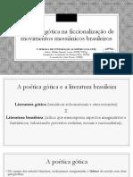 A Poética Gótica Na Ficcionalização de Movimentos Messiânicos