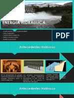 Energía Hidraulíca Equipo 1