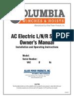 Columbia AC Electric L-N-R Manual (1)