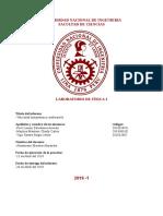 Informe Lab. Fisica 1