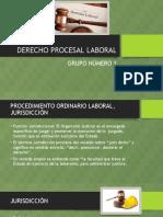 Procedimiento Ordinario Laboral, Jurisdicción