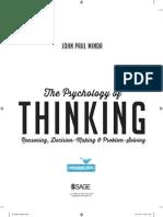 71415 Minda ThePsychologyofThinking