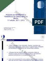 PESQUISA Completa Ibco 2011 Nacional