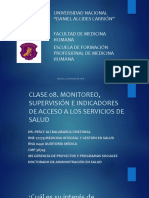 8. Clase 08 Monitoreo Supervision Indicadores UNDAC 2018