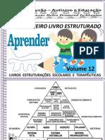 Volume 12 Meu Primeiro Livro Estruturado Alfabeto Coordenação Motora