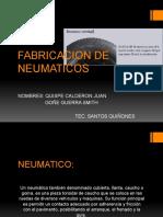 Fabricacion de Neumaticos