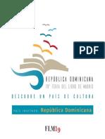Programa de La Republica Dominicana Para La 78 Feria Del Libro de Madrid 31 de Mayo Al 16 de Junio