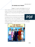 Calendario Cívico Escolar - Mayo