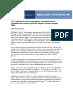 FDA Evaluating the Risk of Brain Deposits.pdf