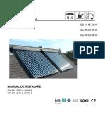 !!!!! Manual Colector Solar GOBE
