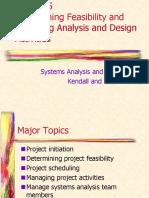 SAD Lec 5 Feasibility Study