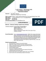 CAD Design Syllabus
