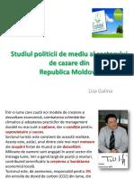 Studiul Politicii de Mediu Al Sectorului de Cazare
