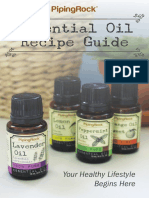 Essential Oil Reference Chart