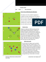 football tutorial notes week 1