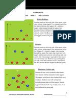 football tutorial notes week 2