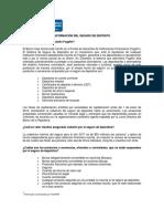 Informacion Del Seguro de Deposito