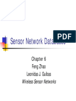 Ch. 6 Sensor Network Databases (1)