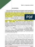 Bethell - La In Depend en CIA de Brasil RESUMEN