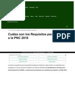 Https Tramitesyrequisitos Com Guatemala Pnc