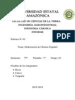 INFORME 02 - Chorizo Español (Envie)