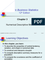 254361109 Chapter 3 Numerical Descriptive Measures