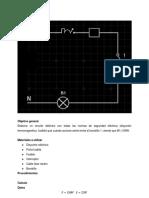 Informe de laboratorios  - electricidad circuitos