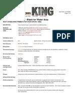 Corrosion KING HBE (Primer All User) Tech. Data