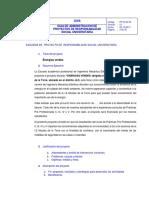 Formato 01 - Esquema de Proyectos Rsu