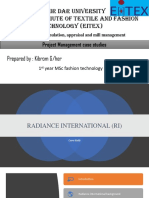 Radiance International Case Study Analysis PDF