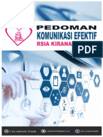 Pedoman Komunikasi Efektif Rsia Kirana Manado 2019