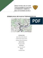 Simbologia de Mapas Topograficos