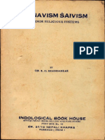 Vaishnavism Shaivism and Other Minor Religious Systems - R.G. Bhandarkar